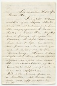 view Letter to the parents of David Hoyt from James F. Legate digital asset number 1