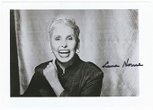 view Photograph of Lena Horne smiling, with autograph digital asset number 1