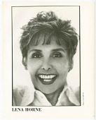 view Headshot photograph of Lena Horne digital asset number 1
