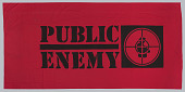 view Banner used at Public Enemy performances digital asset number 1