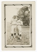view Photograph of two baseball players digital asset number 1