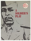 view Theatre program for A Soldier's Play digital asset number 1