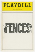 view Playbill for Fences digital asset number 1