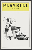 view Playbill for The First Breeze of Summer digital asset number 1