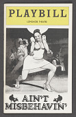 view Playbill for Ain't Misbehavin' digital asset number 1