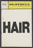 view Playbill for Hair digital asset number 1