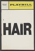 view Playbill for Hair digital asset number 1