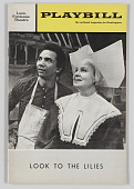 view Playbill for Look to the Lilies digital asset number 1