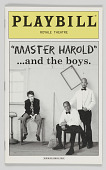 view Playbill for 'Master Harold' …and the boys digital asset number 1