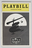 view Playbill for Miss Saigon digital asset number 1