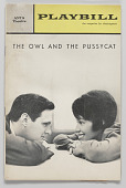 view Playbill for The Owl and the Pussycat digital asset number 1