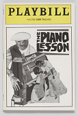 view Playbill for The Piano Lesson digital asset number 1
