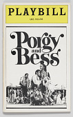 view Playbill for Porgy and Bess digital asset number 1