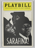 view Playbill for Sarafina! digital asset number 1