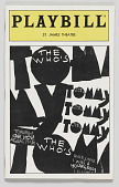 view Playbill for The Who's Tommy digital asset number 1