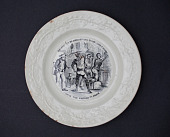 view Plate with Uncle Tom's Cabin illustration digital asset number 1