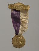 view National Association of Colored Women's Convention Delegate's badge digital asset number 1