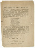 view Handbill for a performance by the Fisk Jubilee Singers digital asset number 1