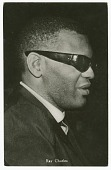 view Photographic postcard featuring Ray Charles digital asset number 1
