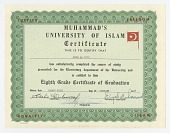 view Diploma from the Muhammad University of Islam digital asset number 1