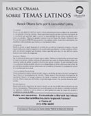 view <I>Barack Obama: Sobre Temas Latinos</I> digital asset number 1