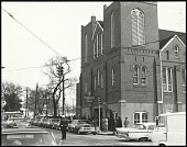 view <I>Auburn Avenue in Atlanta, Georgia Wednesday morning January 15, 1969</I> digital asset number 1