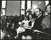 view <I>Harry Belafonte Jr. seated with Coretta Scott King and her children</I> digital asset number 1