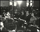 view <I>Coretta Scott King observes the program from her seat with actor Harry Belafonte and members of her family</I> digital asset number 1