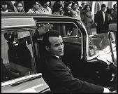 view <I>Harry Belafonte prepares to go inside Ebenezer Baptist Church for Dr. King's memorial service</I> digital asset number 1