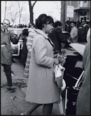 view <I>Yolanda King, oldest daugher of Martin Luther King, Jr. arriving at Ebenezer Baptist Church</I> digital asset number 1