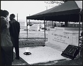 view <I>Mourners gathered at Southview Cemetery</I> digital asset number 1