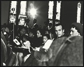 view <I>Harry Belafonte Jr. seated with Mrs. Coretta Scott King and her children</I> digital asset number 1