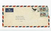 view Envelope addressed to Paula Baldwin from James Baldwin digital asset number 1
