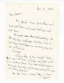 view Letter to Berdis Baldwin from James Baldwin digital asset number 1