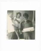 view Print of James Baldwin with sister Paula and mother Berdis digital asset number 1