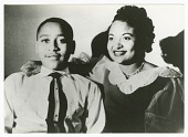 view Photograph of Emmett Till with his mother, Mamie Till Mobley digital asset number 1