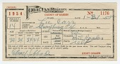 view Poll tax receipt for Lee Carr from Hardin County, Texas digital asset number 1