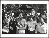 view <I>Birmingham, Alabama. SNCC Workers Outside the Funeral</I> digital asset number 1