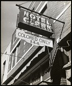 view <I>Hotel Clark, For Colored Only</I> digital asset number 1