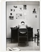 view <I>Stokely Carmichael at SNCC Office, Atlanta, GA</I> digital asset number 1