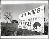 view <I>Lowndes County, Alabama (Vote Nov. 8th sign)</I> digital asset number 1