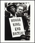 view <I>Martin Luther King, Jr. Funeral: Honor King End Racism</I> digital asset number 1