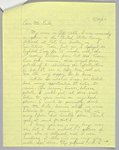 view Letter sent to Charley Pride from Captain Jeff Wells digital asset number 1