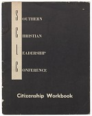 view <I>Southern Christian Leadership Conference Citizenship Workbook</I> digital asset number 1
