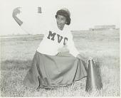 view Portrait of a Mississippi Vocational College cheerleader digital asset number 1