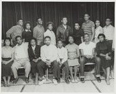 view Group portrait of The Player Guild drama club at Mississippi Vocational College digital asset number 1