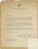 view Letter to Richard Howard from Vice Pres. Richard Nixon, July 22, 1960 digital asset number 1