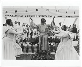 view <I>The Resurrection reenacted by members of Metropolitan Baptist Church, Washington, D.C. 1997</I> digital asset number 1