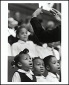 view <I>The children's choir of Shiloh Baptist Church, Washington, D.C., 1998</I> digital asset number 1