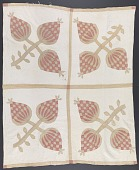 view Pineapple quilt gifted to Lucy Hardiman Roundtree from Lydia Hardiman digital asset number 1